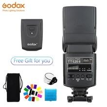 GODOX TT520 II แฟลช TT520II ในตัวไร้สายมาตรฐาน RT สำหรับ Canon Nikon Pentax Olympus กล้อง DSLR