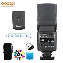Godox TT520 II Flash TT520II Built In senza fili di ricezione, standard RT trasmettitore per Canon Nikon Pentax Olympus Fotocamere REFLEX Digitali
