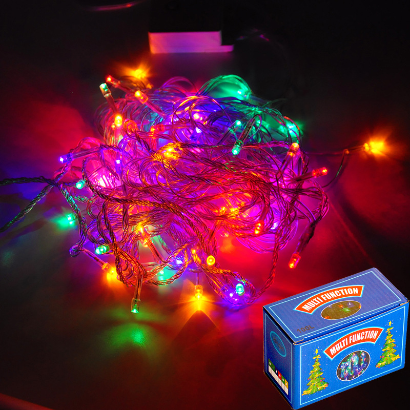 9M 100Led String Garland Christmas Tree Decoration Fairy Light  Waterproof Home Garden Party Outdoor Holiday Decoration EU Plug