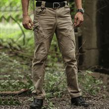 IX9 spodnie wysokiej jakości miasto taktyczne spodnie w stylu cargo mężczyźni walki SWAT wojskowe spodnie militarne bawełna Stretch elastyczne męskie spodnie typu casual tanie tanio Zipper fly COTTON spandex Pełnej długości Camping i piesze wycieczki Pasuje prawda na wymiar weź swój normalny rozmiar