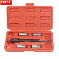 5 шт. дизельный инжектор набор инструментов для резки сидений очиститель набор инструментов для резки углерода