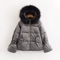 Hot sale Cw80 87759 European and American fashion thickened cotton coat