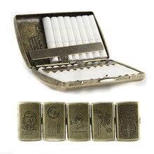 حافظة السجائر المعدنية الجديدة حامل جيب صندوق تخزين الحاويات ل IQOS المرذاذ حامل سيجار صغير