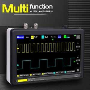 Pocket Sized Intelligent 8MB Multifunctional Digital Storage Handheld Mini For Electronic Maintenance Oscilloscope Set 1GSa