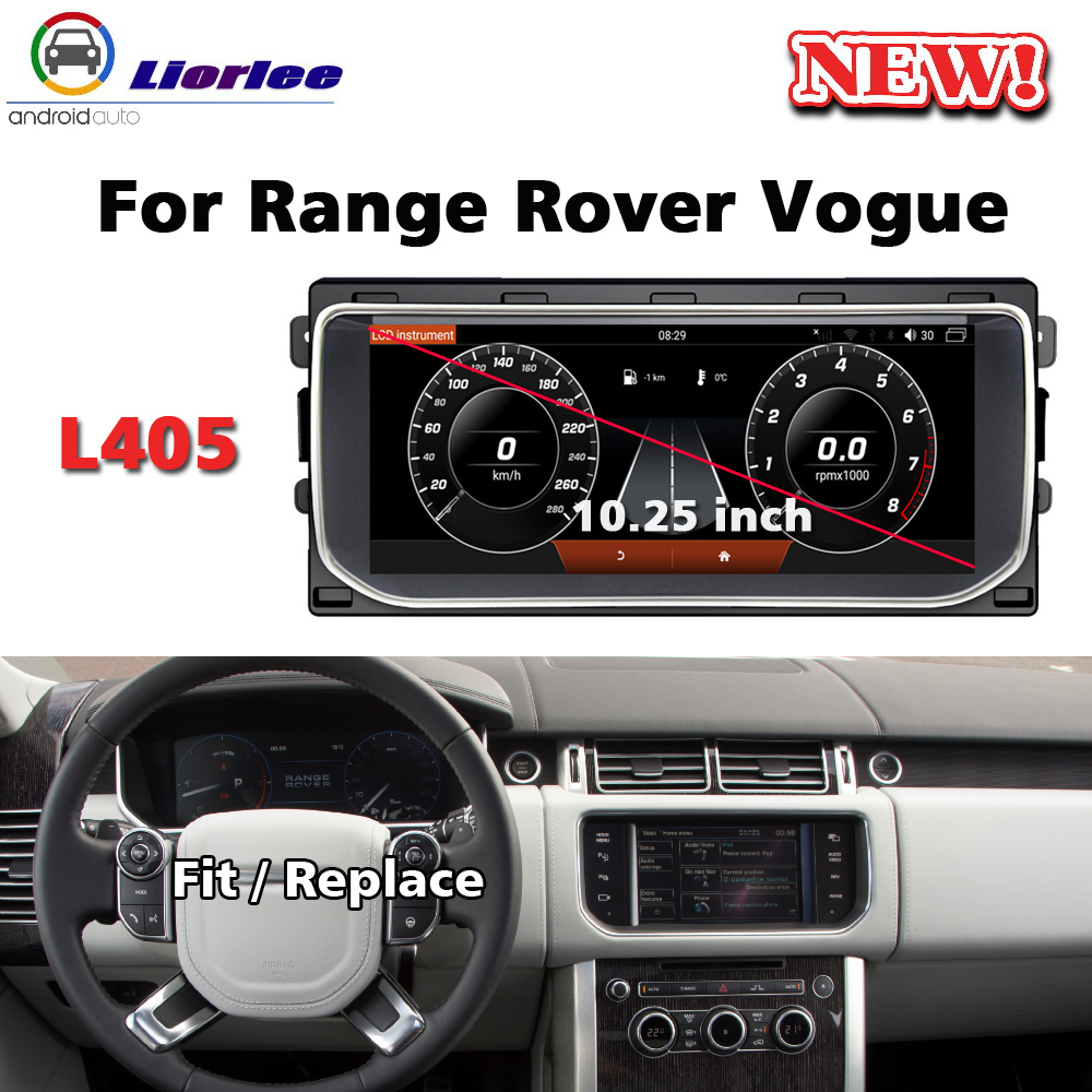 Car GPS Multimedia Player For Land <font><b>Rover</b></font> <font><b>Range</b></font> <font><b>Rover</b></font> <font><b>Vogue</b></font> <font><b>l405</b></font> 2012~2020 Radio Android Stereo Head Unit Navigation System image