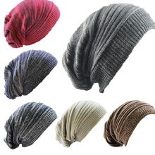 Women's Hat Knitted Wool Cap Double Colour Thousand-layer Folded Women Warmth Cover Pile Up Hat Winter Hats for Women Beanie