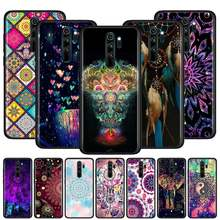 Copertura per la Nota Redmi 9 9S 9 9A 9C 8T 8 7S 7 6 Pro 8 7 6 8A 7A 6A K20 K30 Pro Telefono Antiurto Caso di The Dream Catcher Mandala(China)