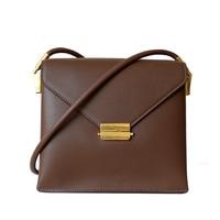 2020 New in split leather lock crossbody bag messenger bags for women