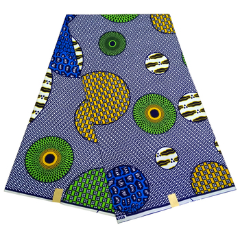 High Quality 6yards African Fabric for Party Dress 2019 Ankara African Polyester Wax Prints Fabric Wax shenbolen african wax print fabric kent fabric 6yards ankara african fabric ankara wholesale polyester wax fabric for dress