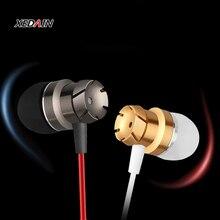 Auriculares intrauditivos deportivos con micrófono, auriculares estéreo con cable de 3,5mm, auriculares manos libres para reproductor de Mp3, iPhone, Xiaomi y teléfono móvil