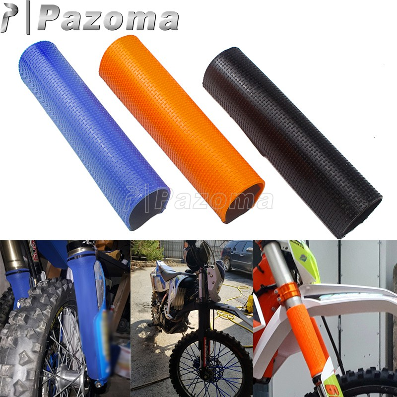 Motorcycle Front Fork Shock Absorber Guard Cover Rear Suspension Wrap <font><b>Protector</b></font> For KTM SXF EXC <font><b>Yamaha</b></font> YZF <font><b>WR</b></font> <font><b>250</b></font> 450 Dirt Bike image