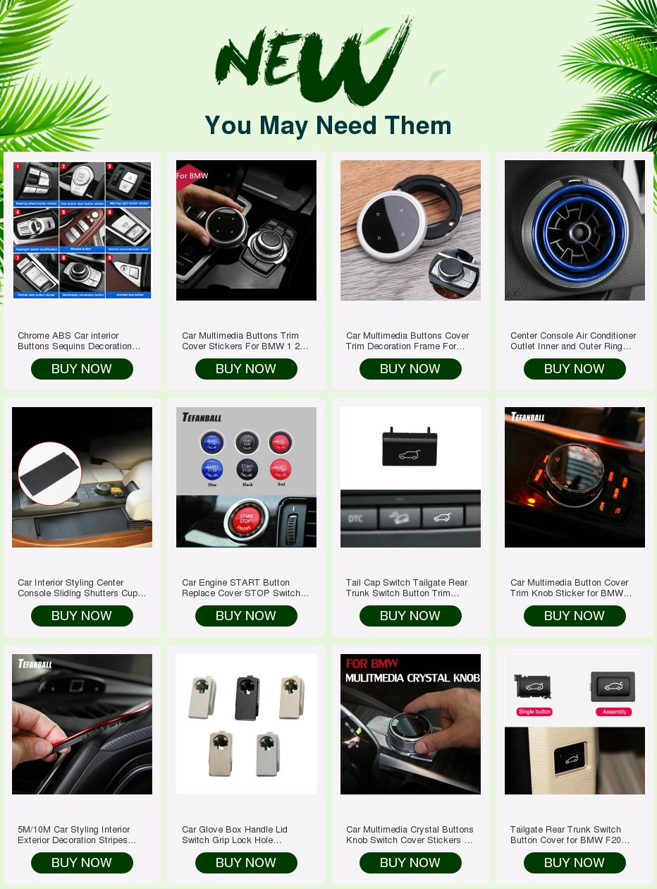 Автомобильный датчик парковки радара переключатель кнопки отделки