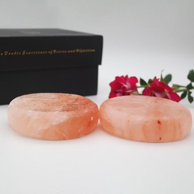 1PCS Swimming Rose Salt Scrub Soap Himalayan Salt Soap Ball Natural Salt Health Cleaner For Bathing Sterilization Bactericidal 4