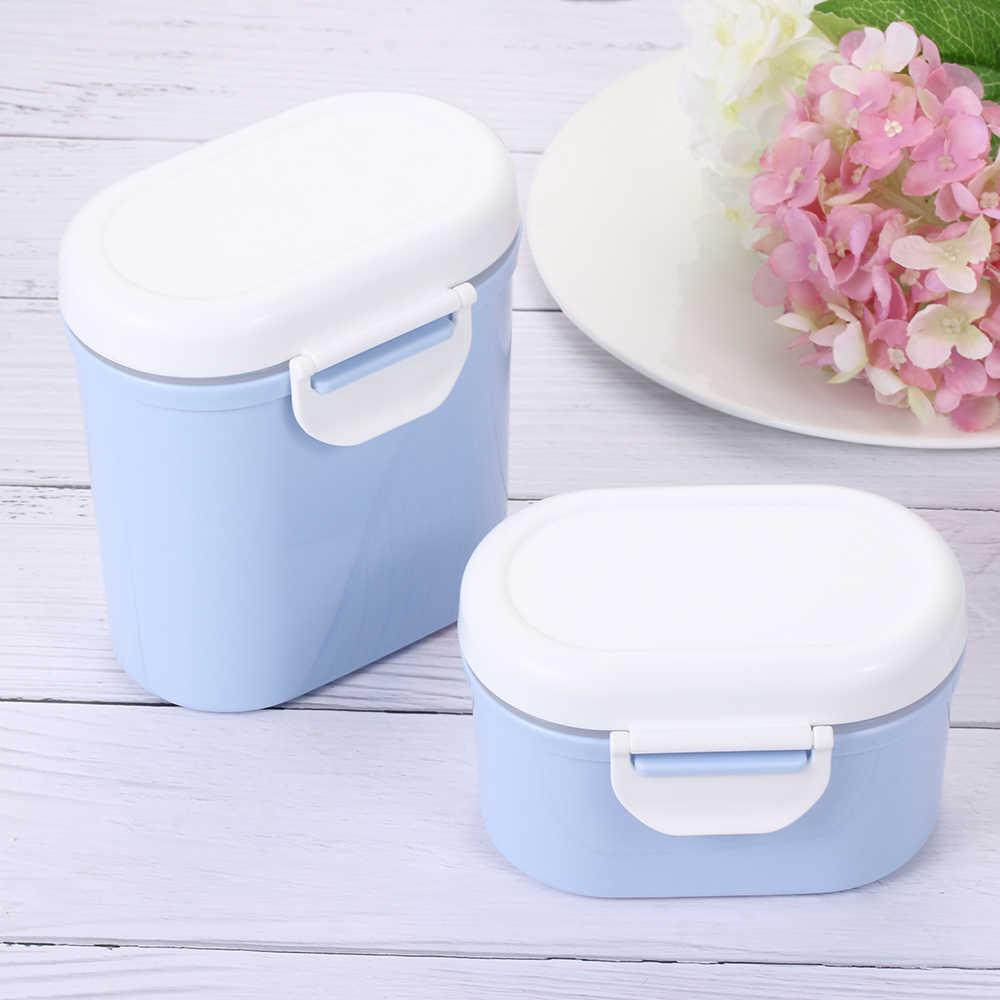 Przenośne niemowlęta pojemnik na jedzenie przechowywanie mleko w proszku dozownik mleka pojemnik na karmę dla dzieci pudełko z polipropylenu dla niemowląt formuła do przechowywania mleka
