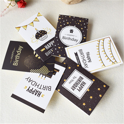 3D Pop-Up Cards Birthday Card for Girl Kids Wife Husband Birthday Cake Greeting Card Postcards Gifts Card with Envelope Stickers