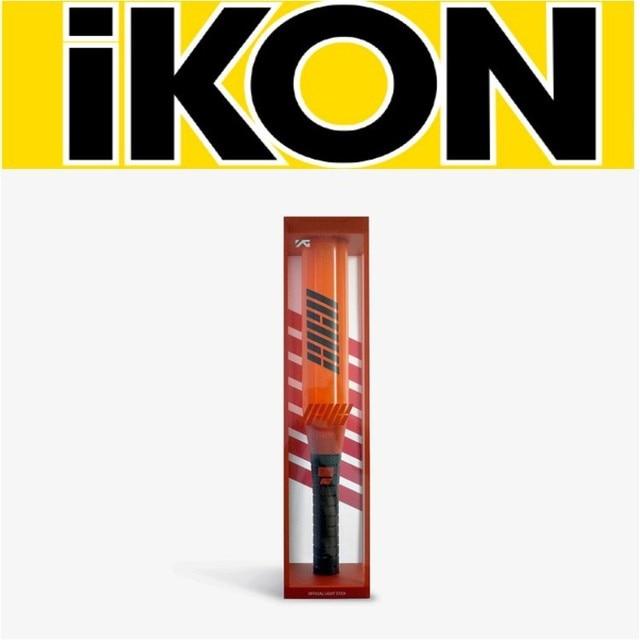 Kpop IKON concert lightstick glow lamp hand lamp fluorescent light stick baseball bat shape high quality K pop IKON New arrivals