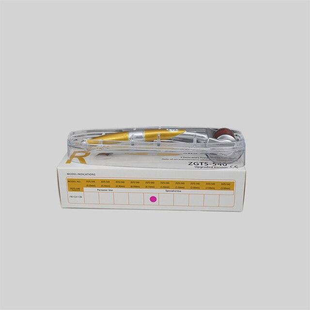 0.2/0.25/0.3mm ZGTS Dermaroller DRS 540 Micro Needles Derma Roller Titanium Mezoroller Microneedle DR Pen Machine for Skin Care 5