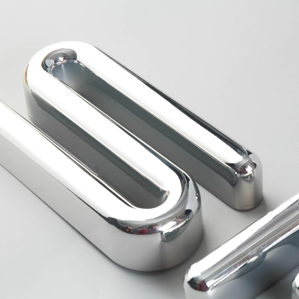 Custom Chrome Vacuum Coating Acrylic Full Lighted Sign Mirror Sliver Led Letter