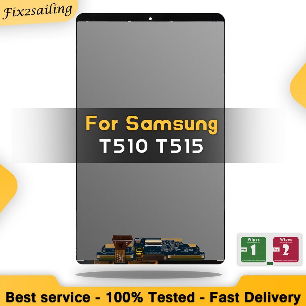 Novo lcd 100% teste para samsung galaxy tab a 10.1 2019 t510 t515 t517 SM-T510 display lcd de toque digitador da tela montagem