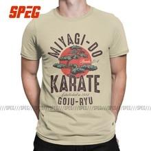 Karate criança cobra kai t camisas para homem 100% algodão criativo t-shirts crewneck t manga curta roupas plus size