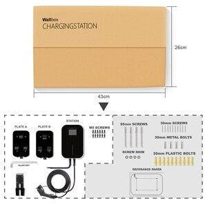 Image 5 - 32A 1 שלב אפליקציה EVSE Wallbox גרסה קיר הר Wifi EV מטען חשמלי רכב תחנת טעינה עם סוג 1 כבל SAE J1772