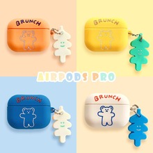 Cute Cartoon Bear Earphone Silicone Case for Airpods 1 2 Case Portable Soft Earpods Cover for Airpods Pro Coque with Keychain cute earphone case for airpods pro case silicone cartoon bear earpods cover for apple air pods pro 3 coque accessories keychain