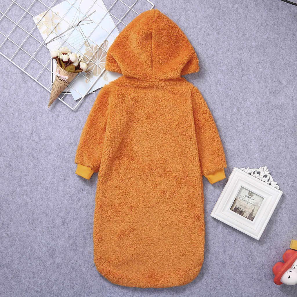 ARLONEET ทารกแรกเกิดฮาโลวีน sleep กระเป๋ารถเข็นเด็กทารก sleeping bag กำมะหยี่กำมะหยี่ Warm Swaddle นอน Wrap CJ06