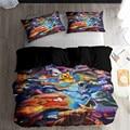 HELENGILI 3D комплект постельного белья с принтом Покемон Пикачу  набор пододеяльников  постельное белье с наволочкой  набор домашнего текстиля #...