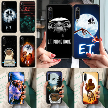 E.T. The Extra-Terrestrial Phone case For Xiaomi Mi note 10 A3 9 MAX 3 A2 8 9 Lite Pro ultra black bumper painting hoesjes trend image
