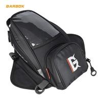 Magnetic Motorcycle Tank Bag Touch Screen Mobile Phone Waterproof Package Metal Strap Handbag Moto Motorbike Racing Ride Storage