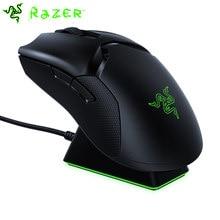 Razer sem fio viper ultimate hyperspeed rgb mais leve gaming mouse sensor óptico 20000dpi 8 botão programável para computador