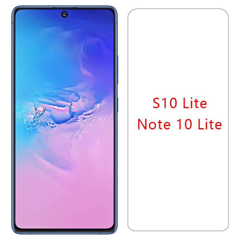 Protective Glass For Samsung Note 10 Lite S10 Light Screen Protector Tempered Glas On Samsun Galaxy Not Note10 S 10lite S10lite