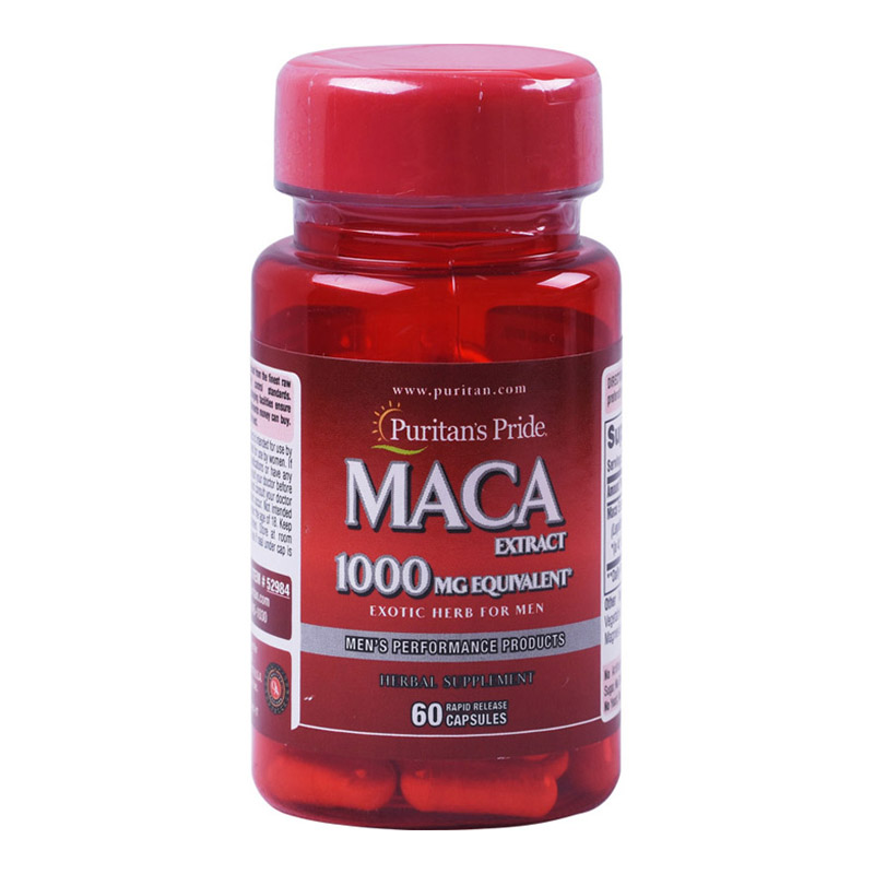 Free shipping MACA <font><b>1000</b></font> mg <font><b>60</b></font> pcs image
