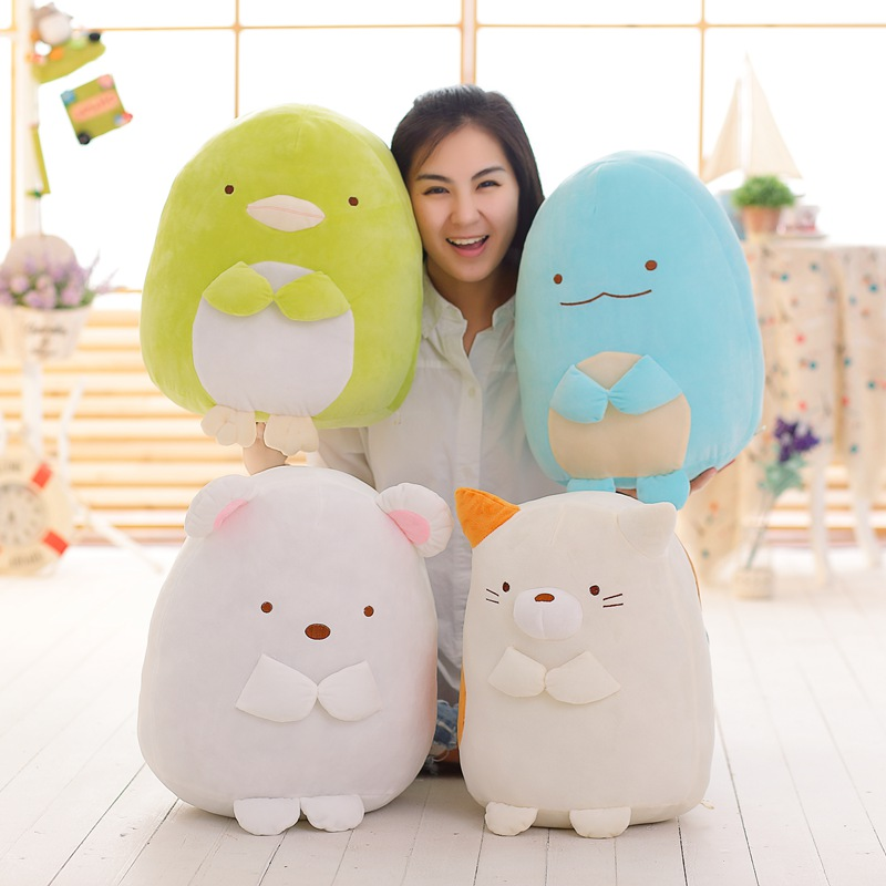 20/30/40cm Soft Toy Sumikko Gurashi  San-X Corner Bio Pillow Japanese Animation Plush Toy Soft Cotton Filled Toys For Fans Gift