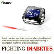 Clinical Tested LLLT Low Level Laser Therapy Watch for Hyperglycemia Hypertension Tinnitus Diabetes cold laser watch with digital blood glucose monitor for hypertension diabetes and tinnitus ce approved