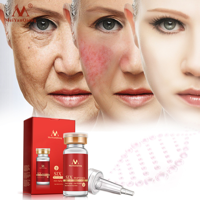 Six Peptides Repair Concentrate Rejuvenation Emulsion Anti Wrinkle Serum For Face Skin Care Products Anti-aging Acid 1