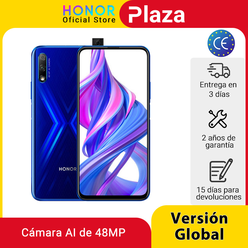 In Stock Special Version Honor 9X 4GB 128GB Mobbile phone 48MP AI Dual Camera 6.59'' Mobile Phone Google Play CellPhone Cellphones  - AliExpress