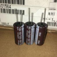 10 pces nova nichicon pw 100v1000uf 18x40mm capacitor eletrolítico 100 v 1000 uf alta frequência longa vida pw 100 uf/1000 v|Chips para amplificador operacional|   -