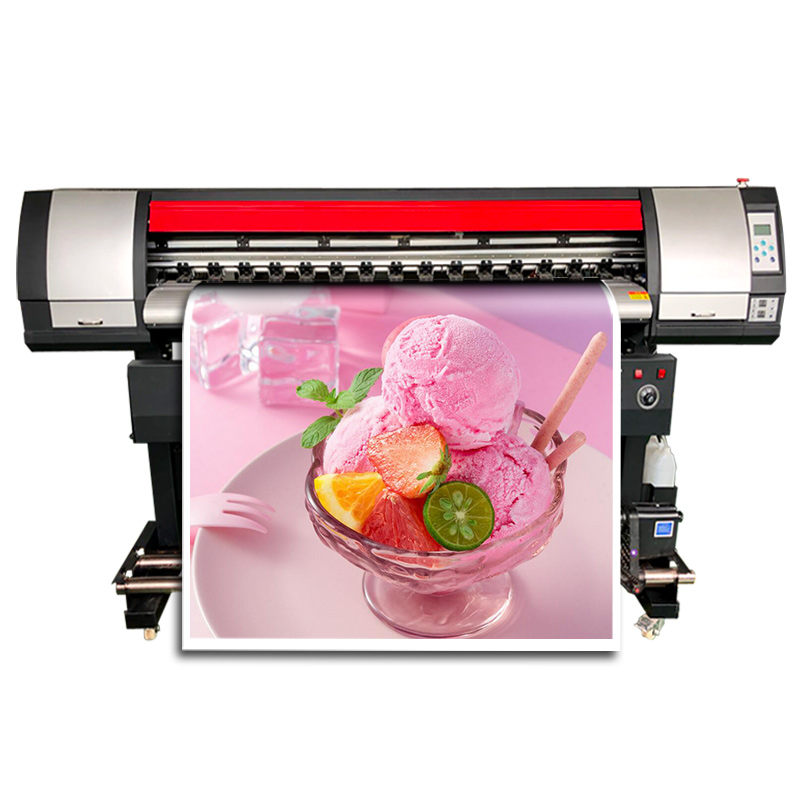 Bon prix pas cher en plein air vinyle bannière Machine d'impression grand Format rouleau pour rouler numérique jet d'encre vinyle bannière imprimante à vendre
