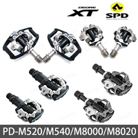 New PD M520 SPD Pedal MTB Mountain Bike Pedal M540 Self Lockings Clipless Pedals M8000 M8020 Bike Parts With PD22 SH51 cleat