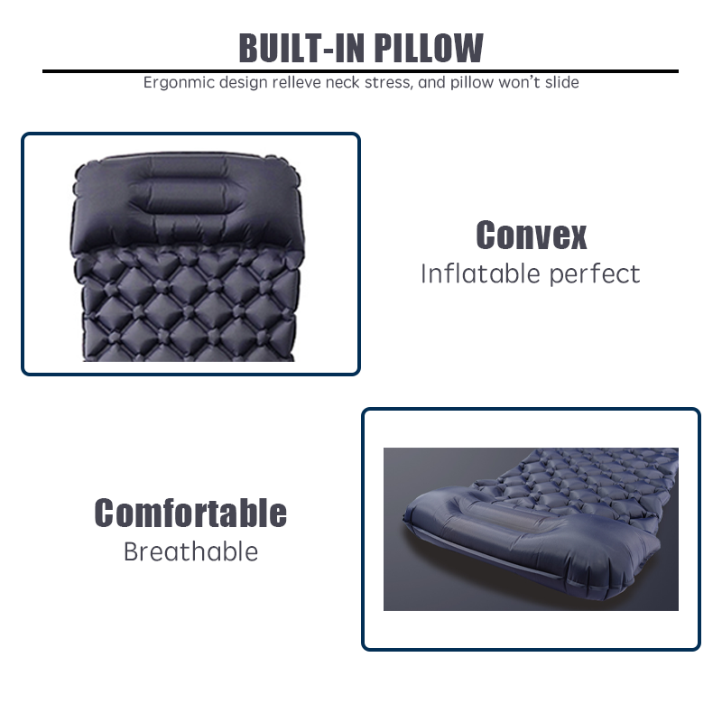 inflatable sleeping bag