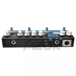 Image 2 - Azor CP 48 Multi Effect Pedal For Acoustic Guitar Chorus Delay and Reverb Digital Effects Guitar Accessories MP3 and XLR Output