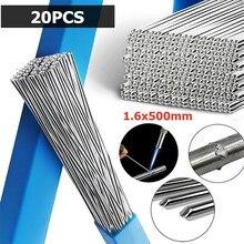 Алюминиевый сварочный провод 1,6 мм, 500 мм/19,7 дюйма, Аксессуары для пайки, легкое плавление