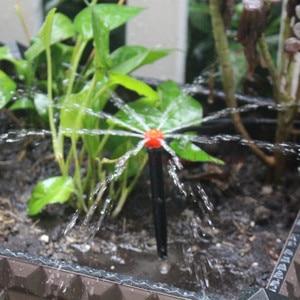 Image 5 - 高速配送 20/25/30 メートル自動水まきマイクロ点滴灌漑ガーデン自己散水調整可能なドリッパースプレー冷却