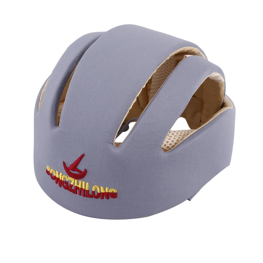Baby Safety Helmets Cotton Infant Protective Hat Headguard For Newborns Boys Girls Crashproof Anti-shock Hat