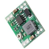 100PCS Ultra Kleine Größe DC DC Step Down Power Supply Module 3A Einstellbare Buck Converter für Arduino Ersetzen LM2596-in Instrumententeile & Zubehör aus Werkzeug bei