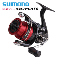 NEW2019 SHIMANO SIENNA fishing spinning reel 2000/2500/2500HG/C3000/4000 max drag 4kg/8.5kg 3+1BB metal spool coil reels fishing