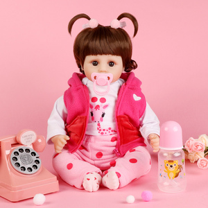 Image 3 - Realistic Reborn Doll 19 Inch Lifelike Handmade Soft silicone reborn toddler baby dolls Christmas surprise gifts lol toy