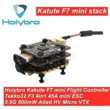 Holybro kakute f7 mini controlador de vôo & tekko32 f3 4in1 45a esc & atltal mini vtx 5.8g combinação mini pilha para fpv corrida rc zangão