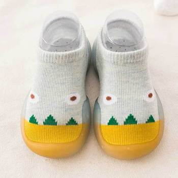 2020 New Baby Socks Shoes non-slip Floor Boat Cartoon Toddler Soft Bottom Waterproof